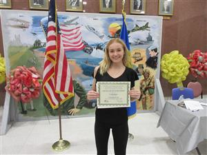 Former Student Carly Unger Recognized by Suffolk County Department of Labor