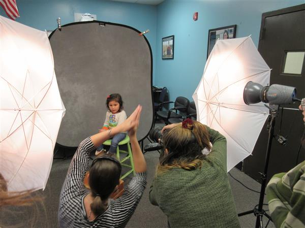 Professional Photography and Digital Imaging Students Photograph Students @ HB Ward Preschool