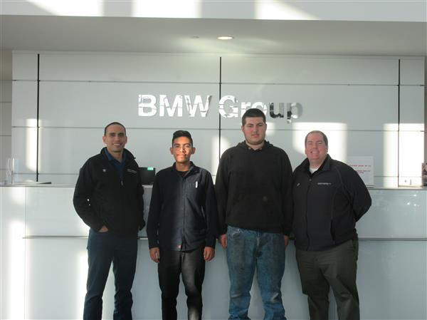 Students Receive Training at BMW Headquarters