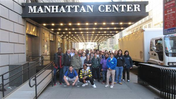 Audio Production Students visit the Manhattan Center and Attend AES Convention