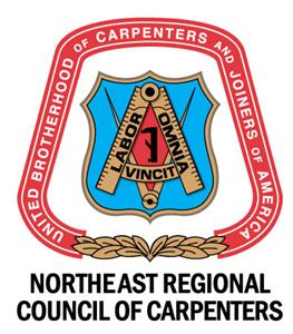 North East Carpenters and Joiners of America logo