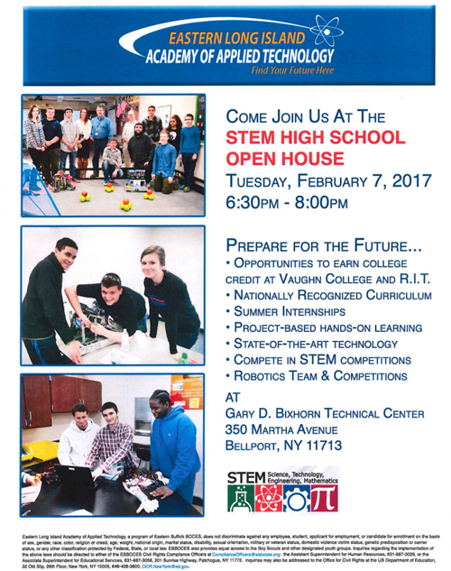 STEM HS Open House