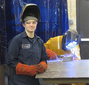 Taylor Terhaar Welding Teacher