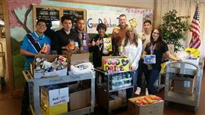 ACADEMY AT BTC ANNUAL THANKSGIVING FOOD DRIVE WAS A SUCCESS