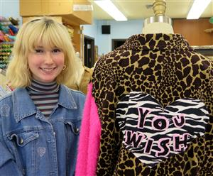 FASHION MERCHANDISING & DESIGN STUDENTS PARTNER WITH SAVERS