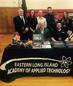 ACADEMY AT BTC STAFF ATTEND CURRICULUM NIGHT AT BELLPORT H.S.