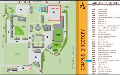 Adelphi Campus Map VEX ROBOTIC REGIONAL COMPETITION JANUARY 24, 2015