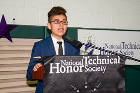 NATIONAL TECHNICAL HONOR SOCIETY INDUCTION CEREMONY - MAY 11, 2017