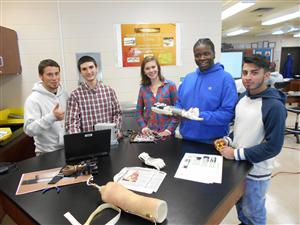 ENGINEERING STUDENTS MAKING A DIFFERENCE WITH ADVANCED TECHNOLOGY