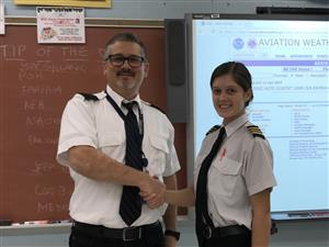 SAA PROFESSIONAL PILOT TRAINING STUDENTS SUCCESSFULLY COMPLETE SOLO FLIGHT