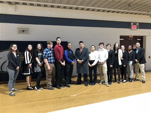 Academy at BTC students attend Emerging Leaders Competition