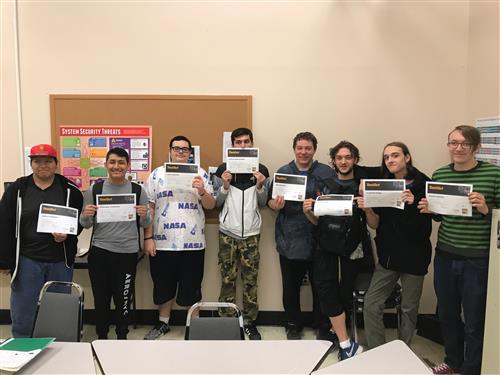 CONGRATULATIONS - MR. KORAL'S COMPUTER TECH & REPAIR STUDENTS PASS THE TESTOUT PC PRO CERTIFICATION