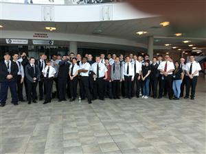 AVIATION STUDENTS VISIT CRADLE OF AVIATION