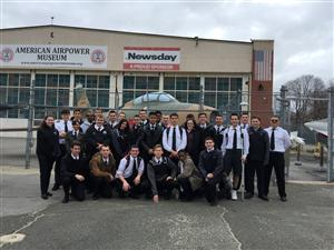 ACADEMY AT BIXHORN TECHNICAL CENTER AVIATION STUDENTS ATTEND AMERICAN AIR POWER MUSEUM