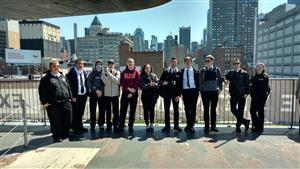 AVIATION STUDENTS VISIT USS INTREPID SEA,  AIR & SPACE MUSEUM
