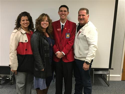 DANIEL STONE-SKILLSUSA NYS OFFICER AREA  VI VICE PRESIDENT SPEAKS AT BOARD MEETING