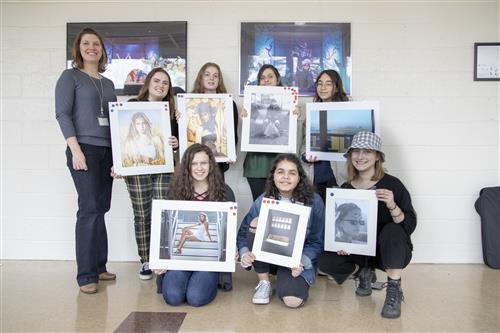 "14 STUDENTS RECEIVE ""BEST IN SHOW"" DISTINCTIONS AT THE LONG ISLAND MEDIA ART SHOW - CONGRATULATIONS"