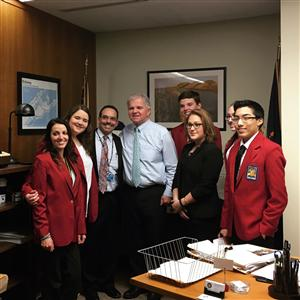 ACADEMY AT BTC STAFF/STUDENTS ATTEND LOBBY DAY