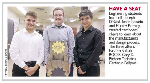 LOOK WHO MADE NEWSDAY & OUR PLACE NEWS - CLICK HERE TO READ ARTICLE FEATURING OUR STEM H.S. ENGINEERING STUDENTS