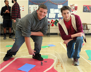 STEM H.S. STUDENTS HAVE SOME CREATIVE FUN WHILE STUDYING THE CIVIL WAR