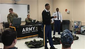 REPRESENTATIVES FROM THE U.S. ARMY VISIT BTC WITH CAREER OPTION/OPPORTUNITIES