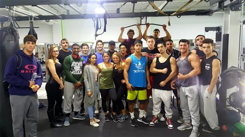 MR. AUDIINO'S CERTIFIED PERSONAL TRAINER CLASS ATTENDS WORKSITE TOUR OF FINEST FITNESS-PATCHOGUE