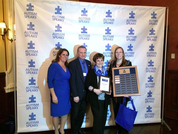 ACADEMY AT BTC IS RECOGNIZED FOR OUR CONTRIBUTION TO AUTISM SPEAKS
