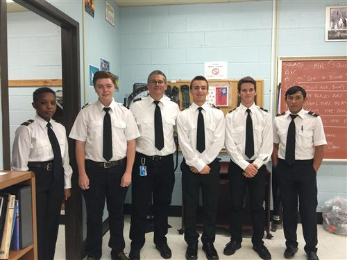 STUDENTS ATTENDING THE PROFESSIONAL PILOT TRAINING PROGRAM RECEIVE THEIR 1ST STRIPES!