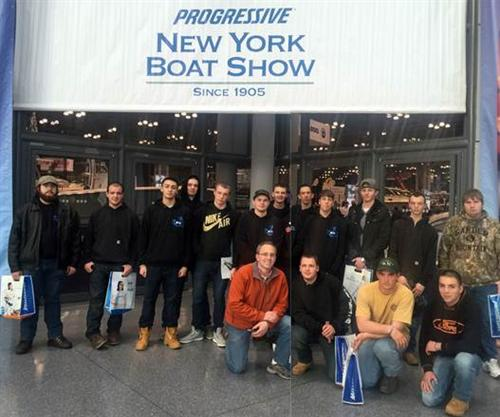 2016 NYC BOAT SHOW-JACOB JAVITS CENTER