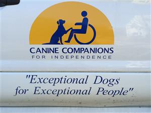 HIGHLIGHTS FROM THE WORKSITE TOUR OF THE CANINE COMPANIONS FOR INDEPENDENCE LIVING