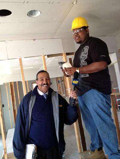 TUNE IN CHANNEL 12 NEWS KEN GRIMBALL VISITS ACADEMY AT BIXHORN TECHNICAL CENTER CARPENTRY PROGRAM