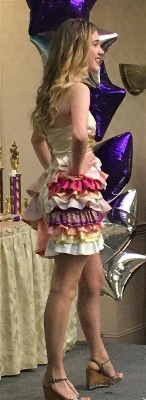 HIGHLIGHTS FROM FASHION RUNWAY SHOW HELD AT THE FRAN COOK COMPETITION - MAY 22, 2017