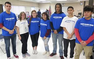 BLOOD DRIVE HOSTED BY MS. JESSEN, PHARMACY TECH STUDENTS AND THE NY BLOOD CENTER WAS A SUCCESS