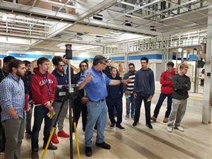 CARPENTRY STUDENTS ATTEND WORKSITE TOUR OF RIVERHEAD BUILDING SUPPLY