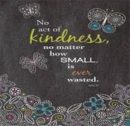 ACADEMY AT BTC PARTICIPATES IN ACTS OF KINDESS FOR KINDNESS WEEK  1/22-1/26