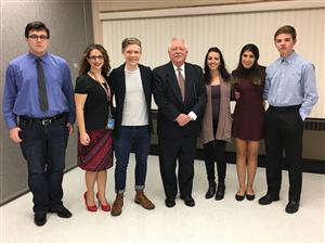 ACADEMY AT BTC STUDENTS ATTEND LEGISLATIVE COMMITTEE MEETING