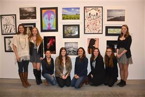 PROFESSIONAL PHOTOGRAPHY STUDENTS ATTEND PARRISH ART MUSEUM STUDENT EXHIBITION