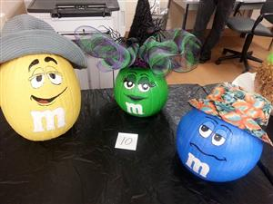 STAFF AT BTC KICKOFF THE FALL SEASON WITH A PUMPKIN DECORATING CONTEST