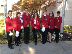 ACADEMY AT BTC SKILLSUSA STUDENT OFFICERS ATTEND NEW YORK STATE SKILLSUSA LEADERSHIP CONFERENCE NOVEMBER 5-7, 2016, ALBANY, NY