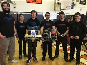HIGHLIGHTS FROM VEX ROBOTICS COMPETITION- EAST ROCKAWAY- SATURDAY, FEBRUARY 27, 2016
