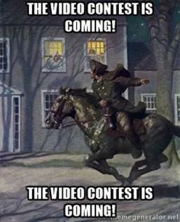 OUR 3RD ANNUAL VIDEO CONTEST BEGINS FEBRUARY 1ST - DON'T MISS OUT ON CHANCE TO WIN LARGE SCREEN TV