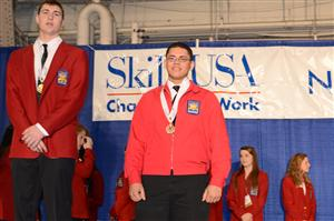 Tommy Disla-Polanco won 3rd place for Plumbing