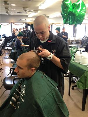 Many heads to shave for this worthy cause
